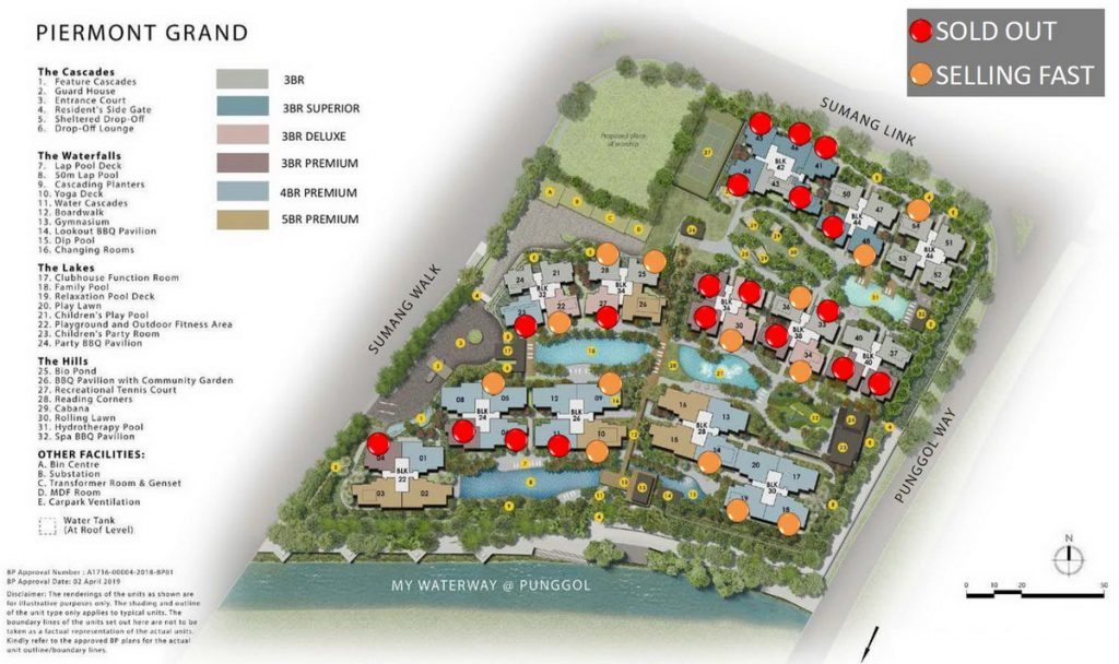 Piermont Grand Site Plan with Balance Units 20200823